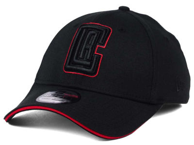 Los Angeles Clippers New Era NBA Black Pop 39THIRTY Cap