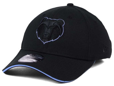 Memphis Grizzlies New Era NBA Black Pop 39THIRTY Cap