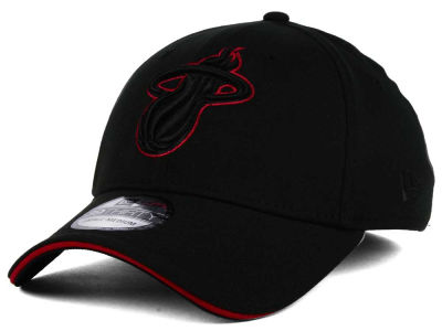Miami Heat New Era NBA Black Pop 39THIRTY Cap