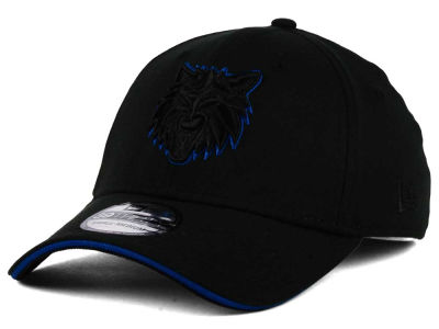 Minnesota Timberwolves New Era NBA Black Pop 39THIRTY Cap