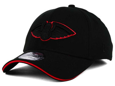 New Orleans Pelicans New Era NBA Black Pop 39THIRTY Cap