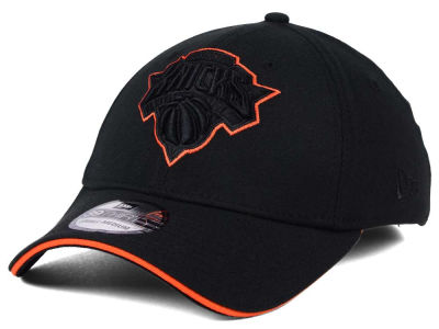 New York Knicks New Era NBA Black Pop 39THIRTY Cap
