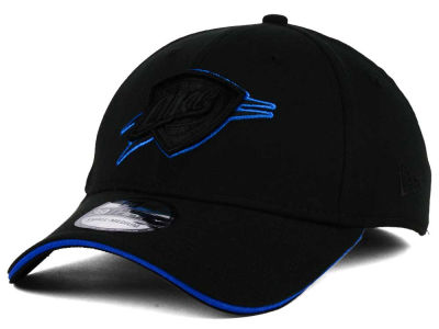 Oklahoma City Thunder New Era NBA Black Pop 39THIRTY Cap