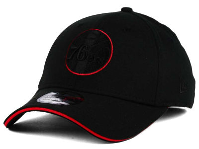 Philadelphia 76ers New Era NBA Black Pop 39THIRTY Cap