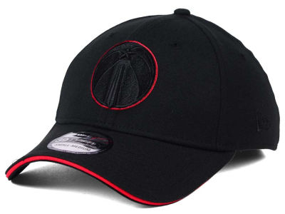 Washington Wizards New Era NBA Black Pop 39THIRTY Cap