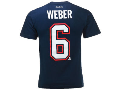 Montreal Canadiens Shea Weber Reebok NHL CN Player T-Shirt