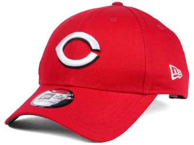 Cincinnati Reds New Era MLB Banner Patch 9FORTY Cap