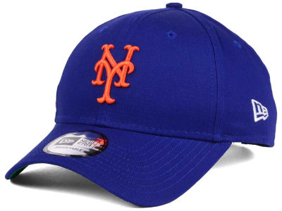 New York Mets New Era MLB Banner Patch 9FORTY Cap