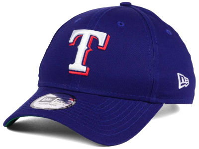 Texas Rangers New Era MLB Banner Patch 9FORTY Cap