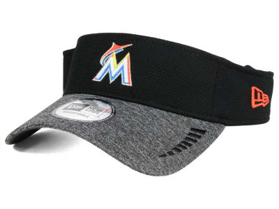 Miami Marlins New Era MLB Shadow Tech Visor