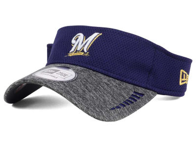 Milwaukee Brewers New Era MLB Shadow Tech Visor