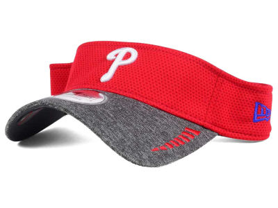 Philadelphia Phillies New Era MLB Shadow Tech Visor