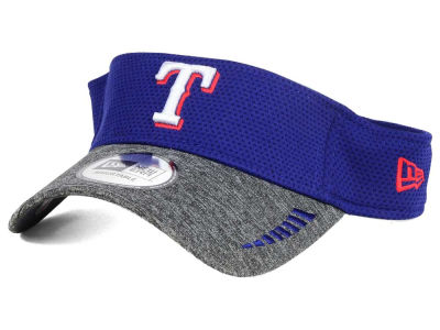 Texas Rangers New Era MLB Shadow Tech Visor