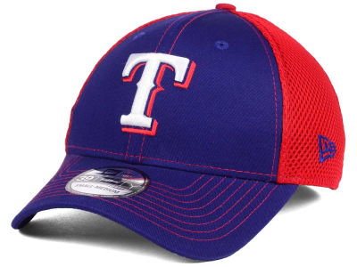 Texas Rangers New Era MLB Team Front Neo 39THIRTY Cap