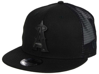 Los Angeles Angels New Era MLB Matte Metal Trucker Cap