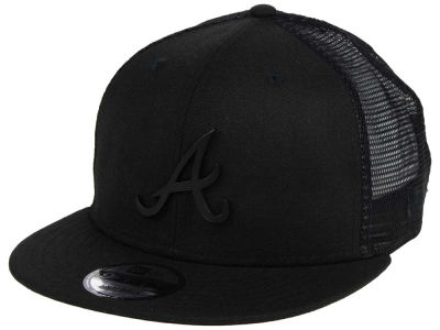 Atlanta Braves New Era MLB Matte Metal Trucker 9FIFTY Snapback Cap