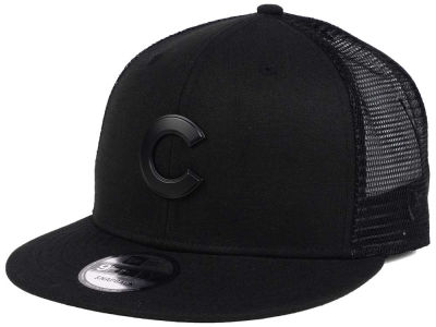Chicago Cubs New Era MLB Matte Metal Trucker Cap