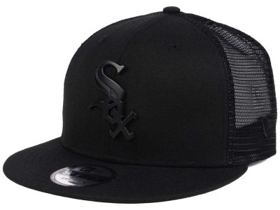 Chicago White Sox New Era MLB Matte Metal Trucker Cap