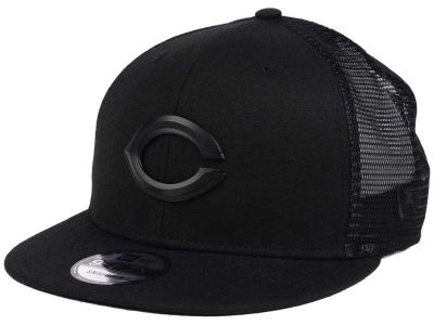 Cincinnati Reds New Era MLB Matte Metal Trucker Cap