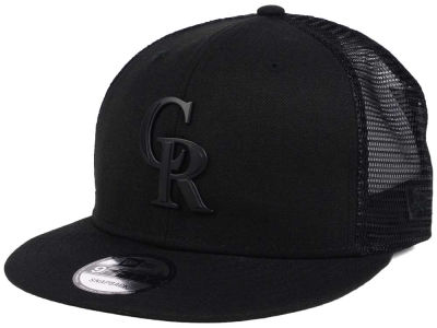 Colorado Rockies New Era MLB Matte Metal Trucker Cap