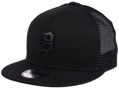 Detroit Tigers New Era MLB Matte Metal Trucker Cap