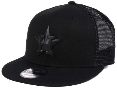 Houston Astros New Era MLB Matte Metal Trucker Cap