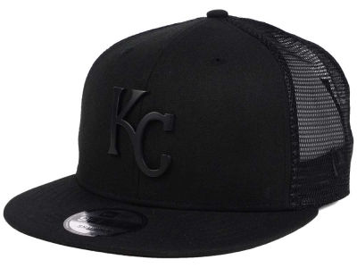 Kansas City Royals New Era MLB Matte Metal Trucker Cap