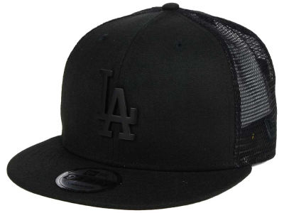 Los Angeles Dodgers New Era MLB Matte Metal Trucker Cap