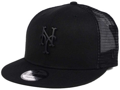 New York Mets New Era MLB Matte Metal Trucker Cap