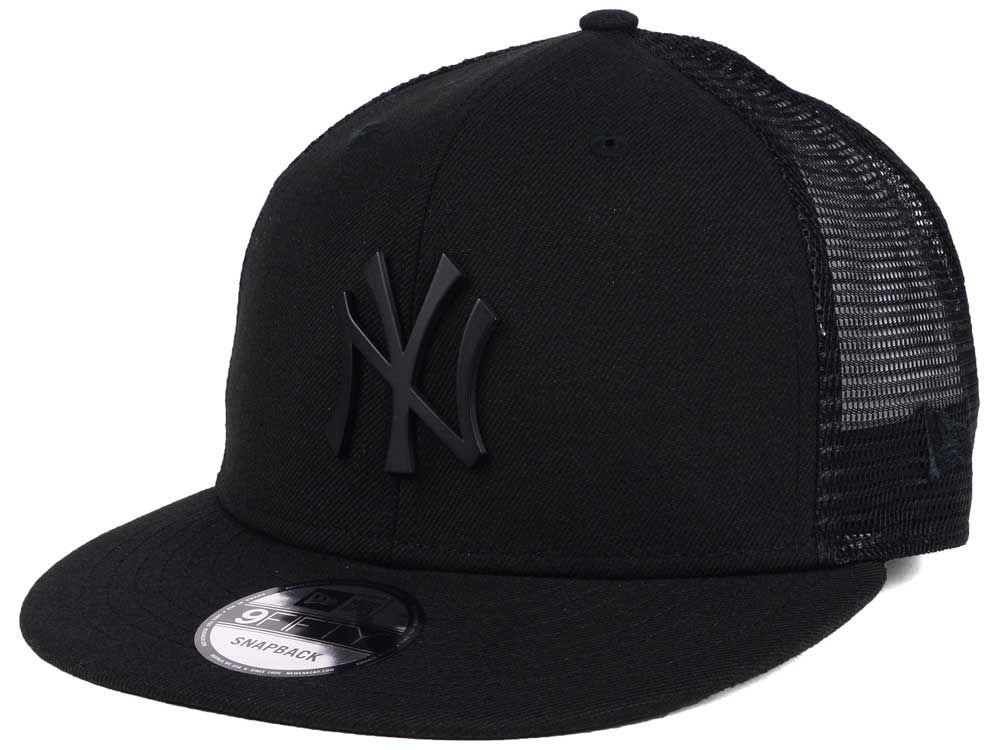 9136f385b20811 ... adjustable hat new york yankees e36a0 1a468; czech new york yankees new  era mlb matte metal trucker 9fifty snapback cap 1178a aa479