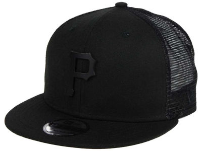Pittsburgh Pirates New Era MLB Matte Metal Trucker Cap