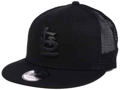 St. Louis Cardinals New Era MLB Matte Metal Trucker 9FIFTY Snapback Cap