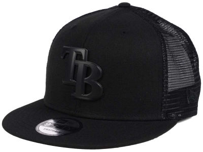 Tampa Bay Rays New Era MLB Matte Metal Trucker Cap