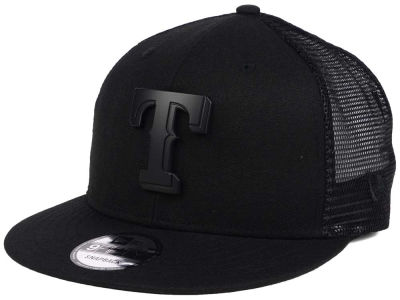 Texas Rangers New Era MLB Matte Metal Trucker Cap