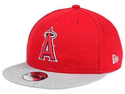 Los Angeles Angels New Era MLB Kids Heather Vize 9FIFTY Snapback Cap