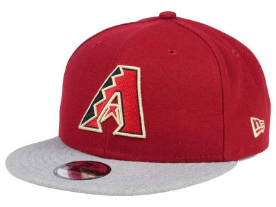 Arizona Diamondbacks New Era MLB Kids Heather Vize 9FIFTY Snapback Cap