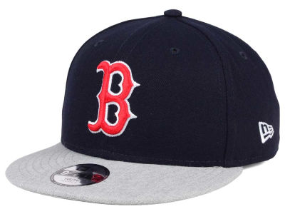 Boston Red Sox New Era MLB Kids Heather Vize 9FIFTY Snapback Cap