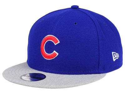 Chicago Cubs New Era MLB Kids Heather Vize 9FIFTY Snapback Cap