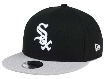 Chicago White Sox New Era MLB Kids Heather Vize 9FIFTY Snapback Cap