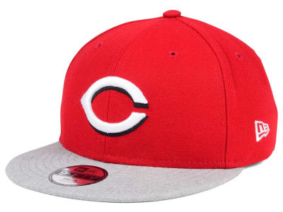 Cincinnati Reds New Era MLB Kids Heather Vize 9FIFTY Snapback Cap