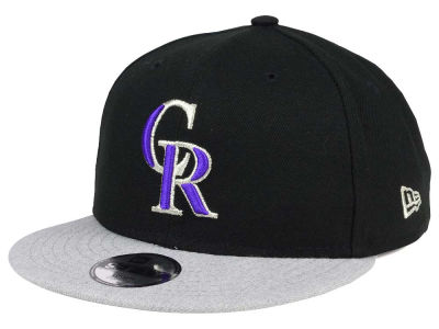 Colorado Rockies New Era MLB Kids Heather Vize 9FIFTY Snapback Cap