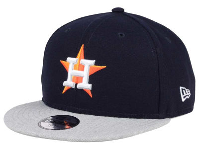 Houston Astros New Era MLB Kids Heather Vize 9FIFTY Snapback Cap