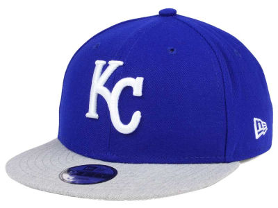 Kansas City Royals New Era MLB Kids Heather Vize 9FIFTY Snapback Cap