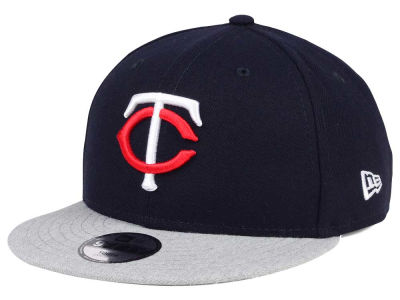 Minnesota Twins New Era MLB Kids Heather Vize 9FIFTY Snapback Cap