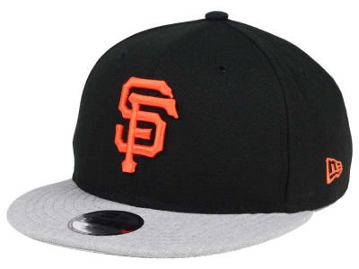 San Francisco Giants New Era MLB Kids Heather Vize 9FIFTY Snapback Cap