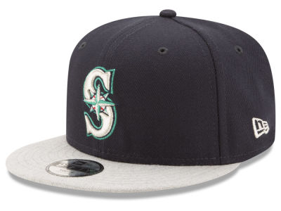 Seattle Mariners MLB Kids Heather Vize 9FIFTY Snapback Cap