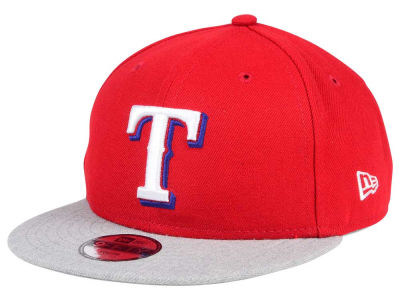 Texas Rangers New Era MLB Kids Heather Vize 9FIFTY Snapback Cap