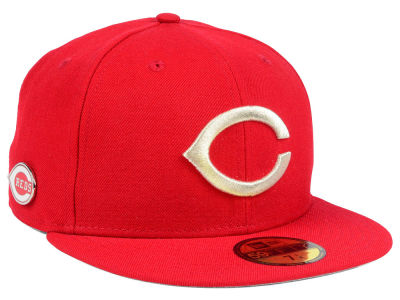 Cincinnati Reds New Era MLB Pintastic 59FIFTY Cap