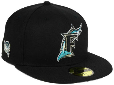 Florida Marlins New Era MLB Pintastic 59FIFTY Cap