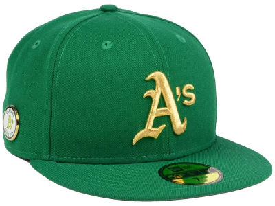 Oakland Athletics New Era MLB Pintastic 59FIFTY Cap